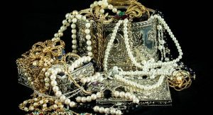 Jewelry and other valuables.