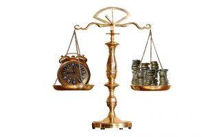 Scales with time and money