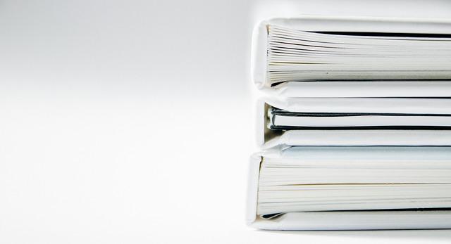 Magazine binder.