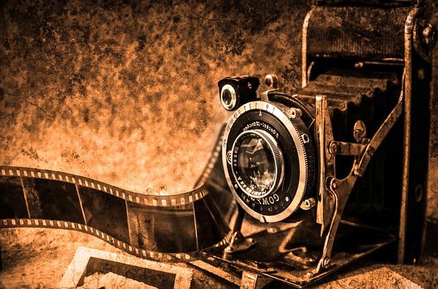 A photo camera.