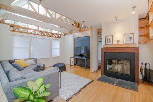a big living room