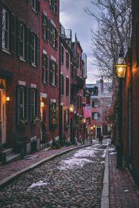 A street in Boston