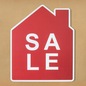 a sale sign