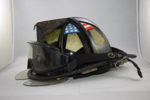 A helmet to wear in order to declutter your garage.