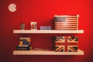 things on shelves