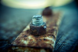 Use your tools to remove the rusty screws while removing rusted items from your home.