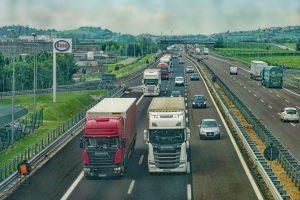 moving trucks - highway
