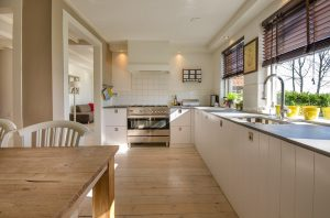 A kitchen to tackle first during room-by-room packing.