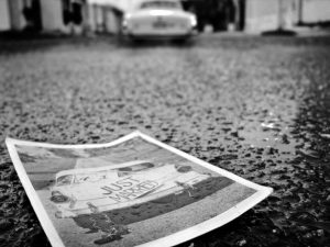 wet photograph