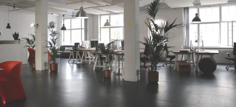 clearing out old office spaces- office space