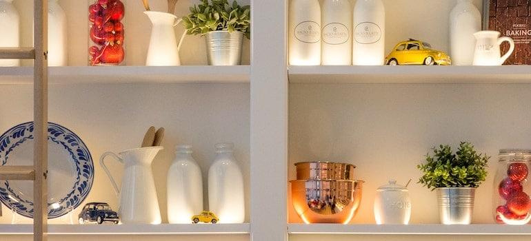 kitchen storage-organizing your new home